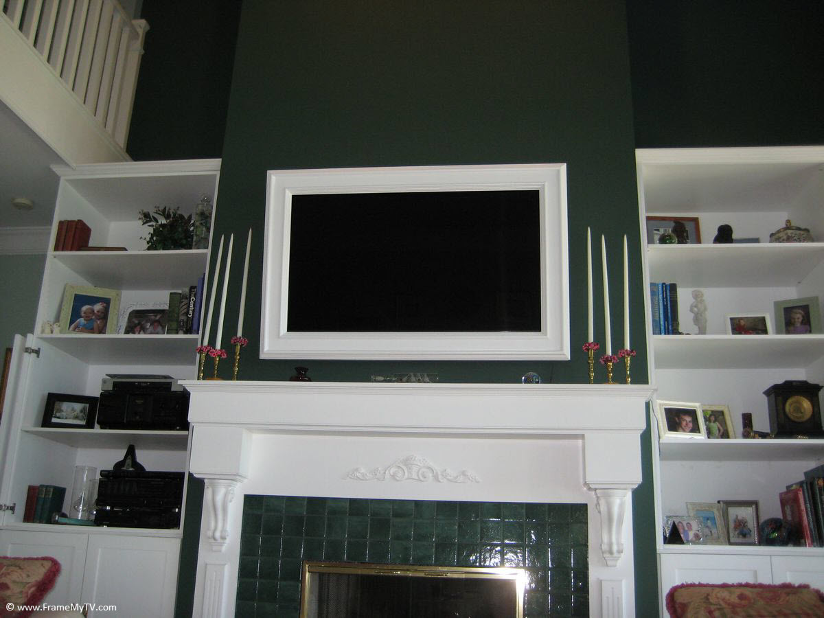 Framing A Tv North Penn Art About Frame Your Tv North Penn Art