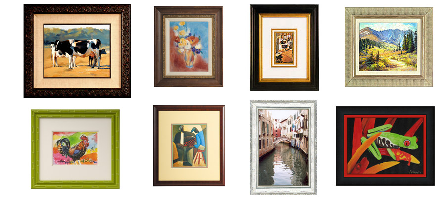 decorative art framing
