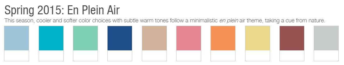 2015 Panetone colors